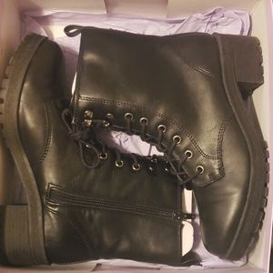 Madden Girl Eloisee Combat Boots